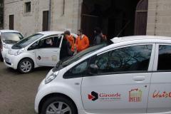 Des voitures électriques pour des jeunes en Service Civique en Gironde